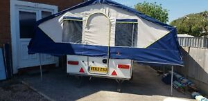 Pennine fiesta Trailer Tent / Folding camper 2003 viewing welcome