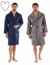 Hombre Satén Bata Kimono Med- XXL