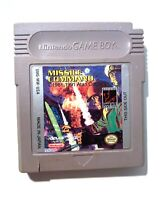 RARE! Missile Command ORIGINAL NINTENDO GAMEBOY GAME Tested + Working!