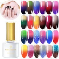 BORN PRETTY 6ml Smalto Gel UV per Unghie Termico Cambiamento di Colore Nail Art