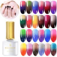 BORN PRETTY 6ml Smalto Gel UV per Unghie Termico Cambiamento di Colore Nail Art