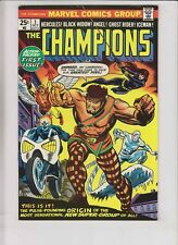 the Champions #1 VF/NM ghost rider - black widow - angel - iceman hercules 1975