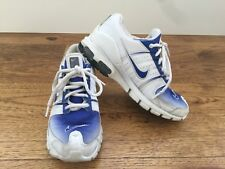 Nike 031101 VJ Shoes, Size 6 Blue/White - Vintage