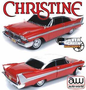 1:18 Christine -- 1958 Plymouth Fury -- Auto World