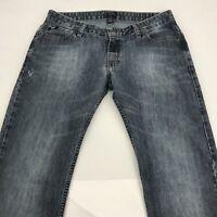 Vans Men's Jeans Size 30/30 Distressed Wash Straight Leg