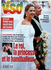 1997: Princess CRISTINA OF SPAIN wedding / mariage_ARNO KLARSFELD_GUGGENHEIM