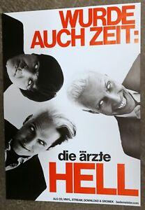 Die   Ärzte -  Hell - Wurde  auch   Zeit  - Poster