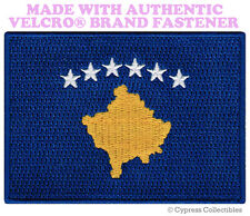 KOSOVO FLAG PATCH YUGOSLAVIA EMBROIDERED SOUVENIR new w/ VELCRO® Brand Fastener
