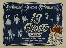 13 GHOSTS Movie POSTER 11x17 C Charles Herbert Jo Morrow Martin Milner Rosemary
