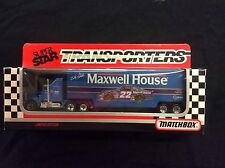 Matchbox Superstar Transporters Maxwell House Bobby Labonte