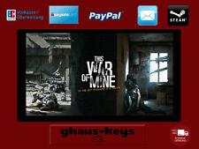 This War of Mine Steam Key Pc Game Code Download Neu Blitzversand
