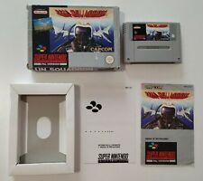 UN Squadron Super Nintendo España PAL (original) completo / Spain