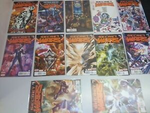 Marvel Secret Wars -bulk Lot