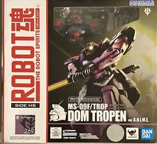 Bandai Robot Spirits Damashii Mobile Suit Gundam Dom Tropen #269 Action Figure