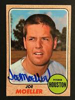 Joe Moeller Astros signed 1968 Topps baseball card #359 Auto Autograph