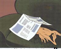 Ren & Stimpy Original Production Cel Animation Art Spumco Cell COA Salve 1990's!