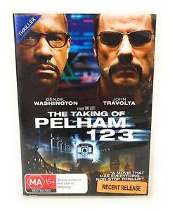 The Taking of Pelham 123 (DVD, 2009) Denzel Washington Region 4 Free Postage