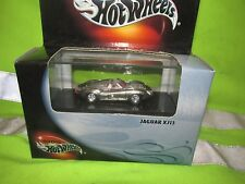 jaguar XJ13 Hot Wheels Polished ZAMAC Real Riders Case 99 black box raw diecast