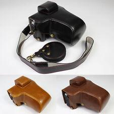 Hq Leather Camera bag case Grip strap for Fujifilm Fuji X-T4 Xt4