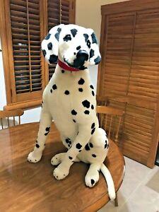 "Plush Dalmatian Dog Melissa & Doug Lifelike & Lovable 31"" Tall Stuffed Animal"