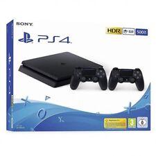 Consola Sony PlayStation 4 Slim 500GB - 2 mandos Inalámbrico