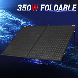 MOBI 350W 12V Folding Solar Panel Super Light Battery Charger Mono Boat Camping