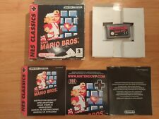 NES CLASSICS SUPER MARIO BROS PARA GAME BOY ADVANCE