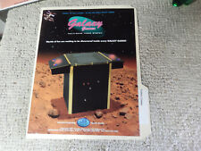 GALAXY GAMES CES cocktail table     ARCADE GAME  FLYER  CSHED