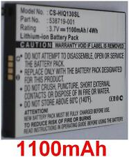Batería 1100mAh tipo 538719-001 538722-001 Para HP iPAQ Brillan