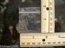 "50 1.5 ""x1.5 "" ZIPLOCK BAGS Clear 2MIL Small POLY BAG RECLOSABLE Plastic Baggies"