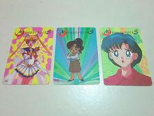 Sailormoon Sailor moon Moonsoldiers cards chibi Makoto Kino