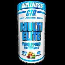 CTD SPORTS MULTI-ELITE 120TABS MULTI ELITE VITAMINS FRUITS VEGGIES WHOLE FOODS
