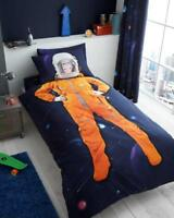 Boys Space Chimp Girls Duvet Quilt Cover or Fitted Sheet Kids Bedding Set Single