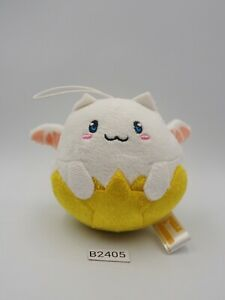"Puzzle & Dragons B2405 Tamadra Keychain Mascot Plush 3"" Toy Doll Japan"