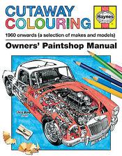 """Haynes Cutaway colorazione proprietari """"PaintShop manuale 1960 in POI VARIE MARCHE"""