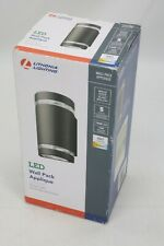 Lithonia Outdoor Wall Cylinder Light Sconce14w LED 4000K Bright White 947 Lumens