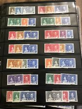 Vtg Lot Of (300+) Omnibus Issues Classics Stamps Mint & Used British Colonies