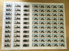 FULL SHEETS Sierra Leone 1985 703-6 - Motorcycle Cent. - Set of Sheets - MNH