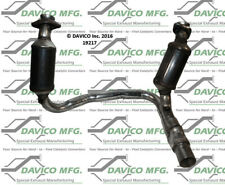 Catalytic Converter-Exact-Fit Front Davico Exc CA 19217