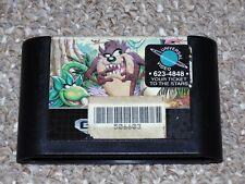 Taz-Mania Sega Genesis Cartridge
