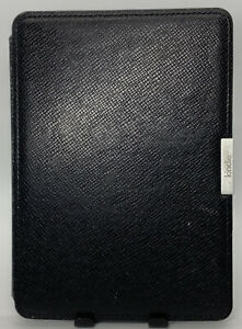 Amazon Kindle Paperwhite Original Rough Leather Case Cover Auto Wake Up Gen 1-3