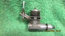 GILBERT 7 VINTAGE MODEL AIRPLANE AIRCRAFT GLOW ENGINE COMPLETE