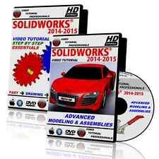 SOLIDWORKS 2014-2015 Beginner & Advanced Video Tutorial BUNDLE in HD