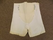 Pillow Tabbed Girly Vtg 50s NEW Rubber Long Leg Shaper Garters Panties XL 31/32