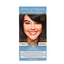 3 X Tints of Nature Natural Black 1n Permanent Hair Colour 130ml Ammonia
