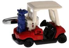 Golf Cart Cufflinks PGA US Open Golfer Wedding Fancy Gift Box Free Ship USA