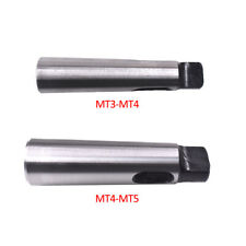 2pcs Mt3 Mt4 Mt4 Mt5 Morse Taper Adapter Reducing Drill Chuck Sleeve