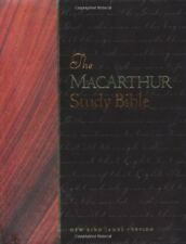 The MacArthur Study Bible (1997, Hardcover)