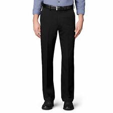 Van Heusen Mens Big and Tall Cuffed Crosshatch Pant