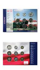 Poland Type Set 5 Zlotych,2 Zlote,1 Zloty,50,20,10,5 Groszy,2 Grosze,1 Grosz BU